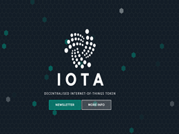 IOTA: Internet of Things Without the Blockchain?