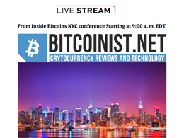 Live streaming from NYC Inside Bitcoins conference