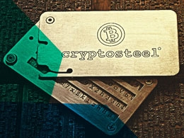 Introducing Cryptosteel: The World's Safest Cold Wallet Storage