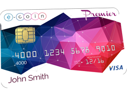 E-coin Takes Bitcoin Debit Cards To A New Level