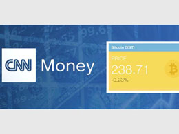 CNN Money Adds Bitcoin Ticker (XBT)