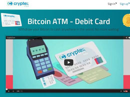 Cryptex Bitcoin Debit Card 'Works on 90% of US ATMs'