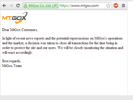 Mt. Gox Only Has Infuriating Announcement Left On Their Website: They Haven't Yet Announced Their Sale