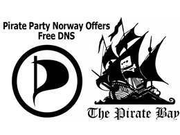 Pirate Party Offers Free DNS Server