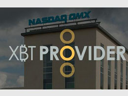 XBT Provider Announces Bitcoin Tracker One, the First Bitcoin-based Security Traded on Nasdaq Stockholm